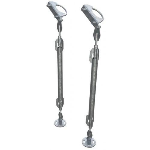 MAFI - 1M Long Adjustable Strut for 114mm (Pair + 2250 fixing box kit)