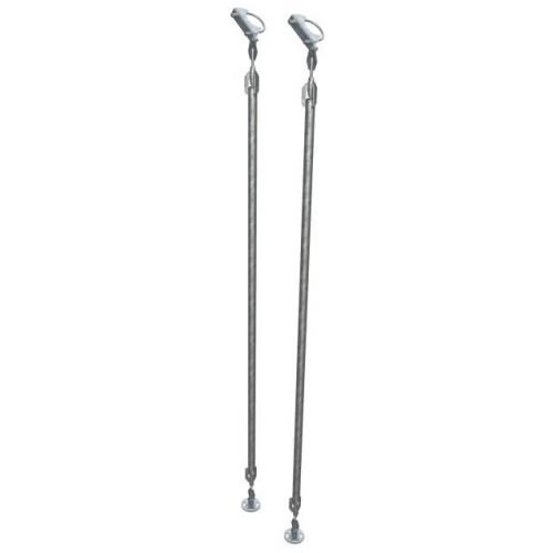 MAFI - 3M Long Adjustable Strut for 114mm (Pair + 2250 fixing Box kit)