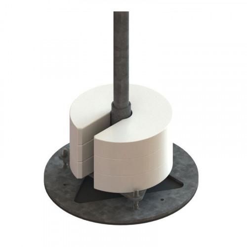 MAFI 4112 Roof Tube Single Based H=1m