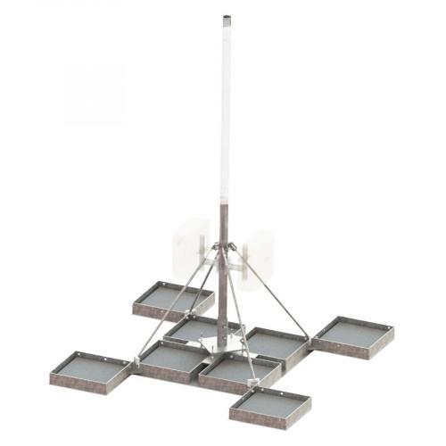MAFI 43090 Option for 4309, STU (including 8  x concrete blocks)