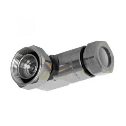 """RFS Connector 7-16 DIN male right angle premium for LCF 1/2"""" aluminium & copper cable"""