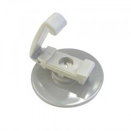 Self Adhesive - LP Tape Clip - Grey (to suit PVC covered 25x3 tape)