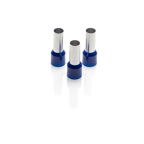 50mm2 Insulated Bootlace Ferrules - Blue - Price Each