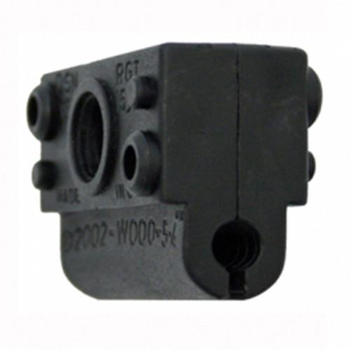 BW000-5.4mm  Black Single Clamp