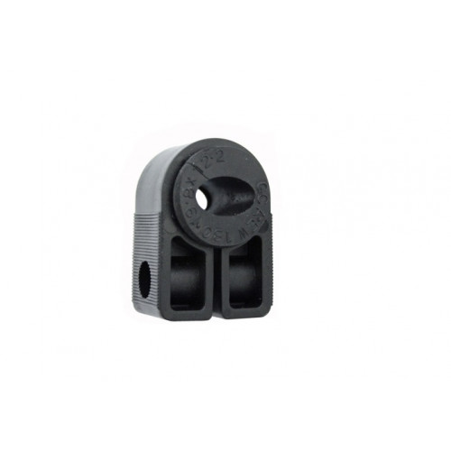 BW1.2-EW180 Black Cleat with Bung