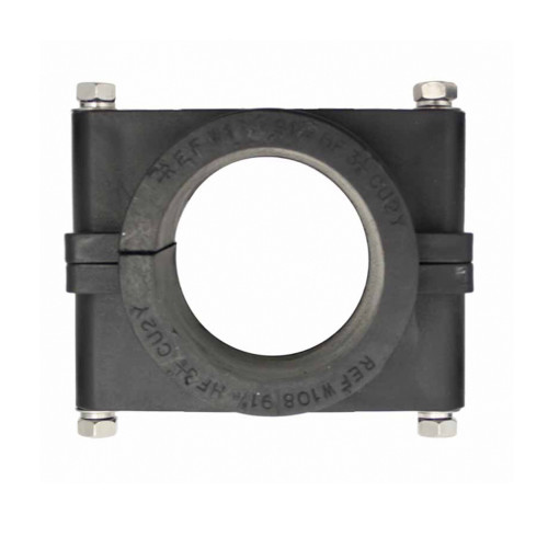 BW108/115 Black Two Bolt Clamp