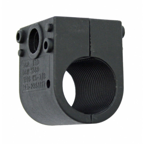BW23mm Black Single Clamp