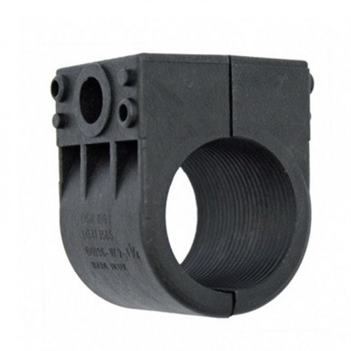 "BW7-11/4"" Black Single Clamp"
