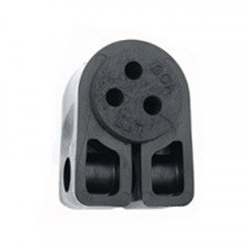 BW1.2-3 HOLE Black Cleat with Bung (3 x 6.2mm)