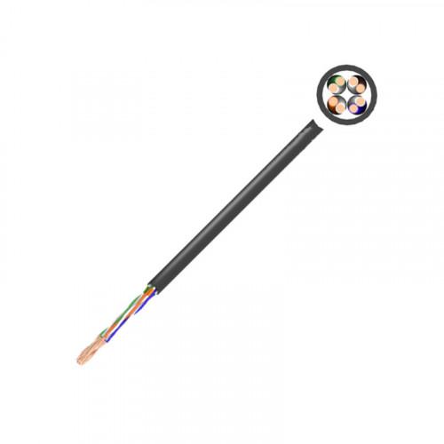 XeLAN CAT5e UTP EXTERNAL 4 PAIR CABLE 305m - BLACK
