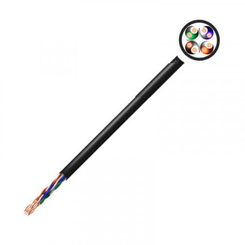 XeLAN CAT6 UTP EXTERNAL 4 PAIR CABLE 305m - BLACK