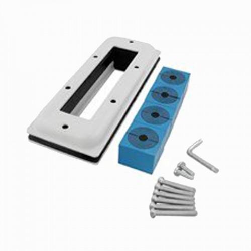 ROXTEC CF 16/4 Enamelled Frame Kit  for 4 Cables