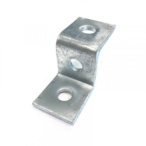 Channel Support 'Z' Bracket - 3 hole for 41mm Channel
