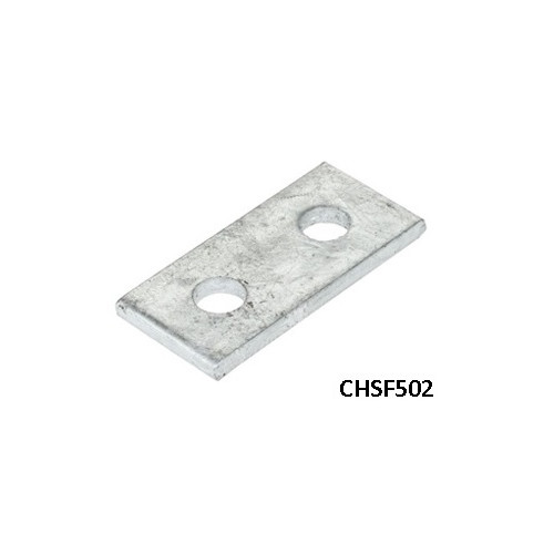 Flat Plate 2 Hole - HDG