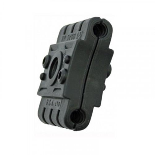 2P-DW00-6.5mm Double Black Clamp