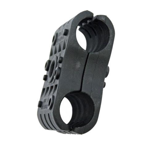 2P-DW4-5/8 Double Black Clamp