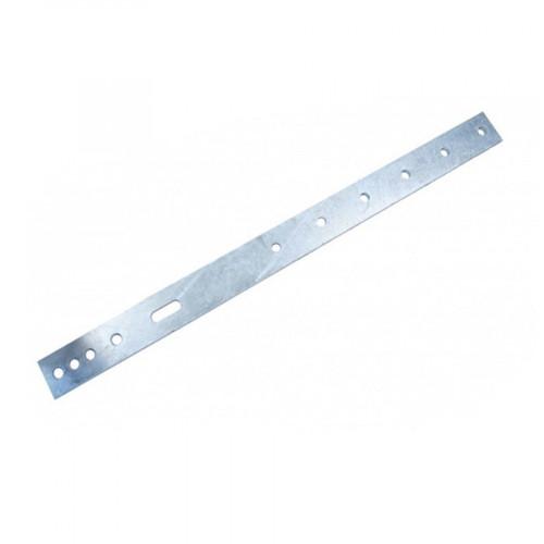 6 Hole Feeder Bracket - 655x50x8mm - Mild Steel Galvanised - to suit 48.3, 60.3, 76.1, 88.9, 114.3 & 139.7 pol