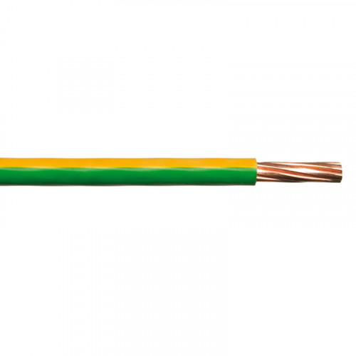 10mm2 Green/Yellow 6491x earth cable (price per mtr)