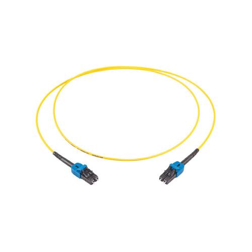 LC Duplex OS2 1.0mtr Yellow 9/125 Fibre Cable