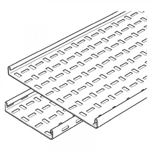 SWIFT Legrand 100mm x 3m Medium Duty Cable Tray - Pre-Galv
