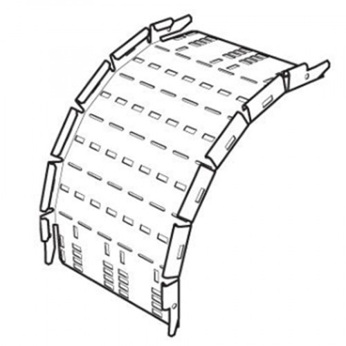 SWIFT Legrand Cable Tray Outside Riser 150mm - HDG