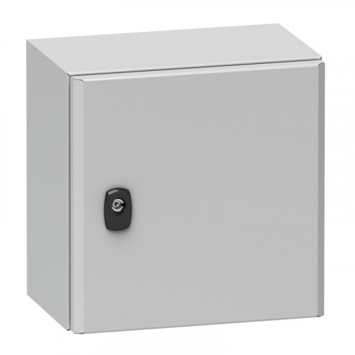 Sarel Enclosure - NSYS3D6630P - 600x600x300mm with mount plate