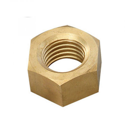 M6 Hex Full Nuts Brass - Price Each