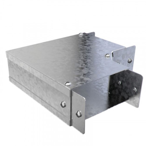 90 Degree Bend - Top Lid - For 100 x 50mm - Steel Trunking