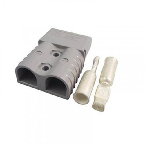 SB120 Anderson Grey (36v) Connector c/w 2 x 16mm Contacts