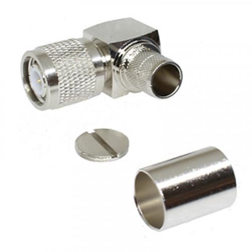 TNC Right Angle Crimp Male/Plug  for RG8/LMR400 (213-1580K-070)