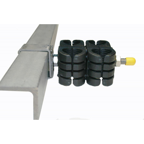40 x 40 Angle Iron Fixing Bracket - Stainless - M10