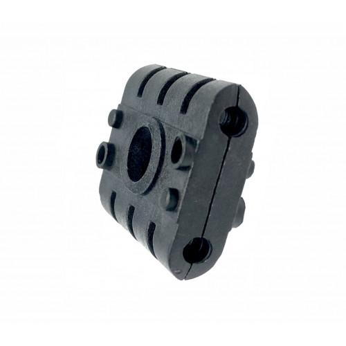 2P-DW00-4.8mm Double Black Clamp