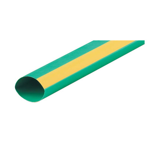 2:1 Green & Yellow Heat Shrink Tube 19.1mm (price per mtr)