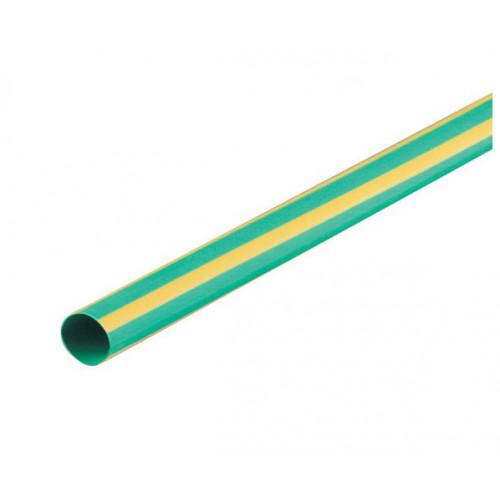 2:1 Green & Yellow Heat Shrink Tube 4.8mm (price per mtr)